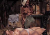 Tarfe lesbiene se fut in grajd peste capita de fan