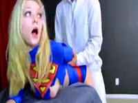 Alli Rae, Super Girl, o blonda disperata dupa pula