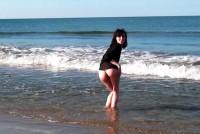 Muie si futai pe o plaja in boscheti