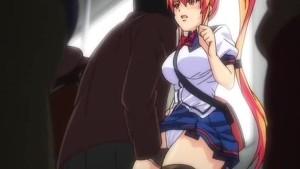 Anal hentai futai in public